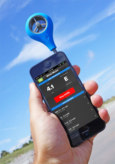 WeatherFlow Wind Meter, an Anemometer for Your iPhone