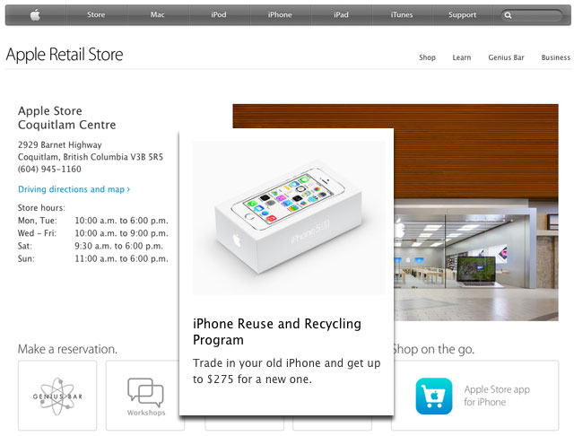 Apple Store Screenshots