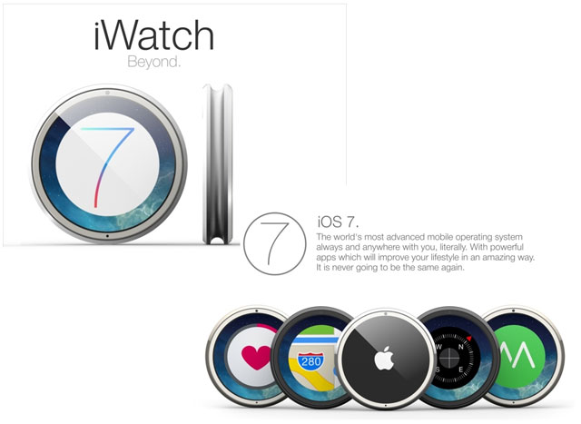 The Best Apple iWatch Mockup Yet