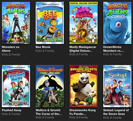 Monsters vs. Aliens and Chicken Run: $9.99 on iTunes Store