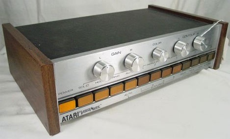 The Atari Video Music system