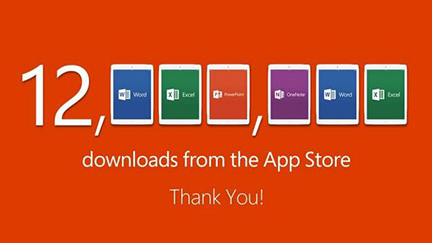 12 million downloads in ones week. Not bad for the late comer.