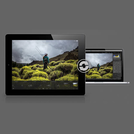 Lightroom for iPad lets you edit Raw images away from your desktop