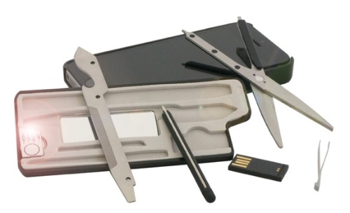 MyTask: an iPhone 5/5s Case with Toolkit Trays