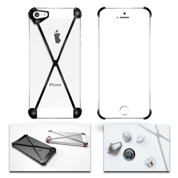 The Mimimalist Aluminum RADIUS iPhone 5/5s Case
