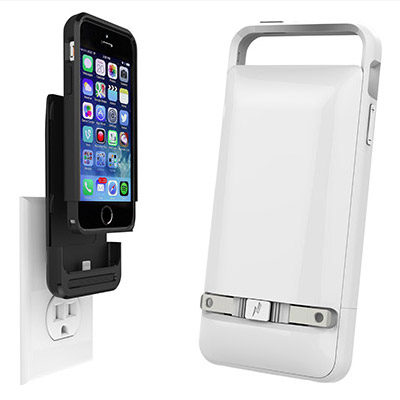 Prong PWR Case Marries Wall Plug to Battery Case