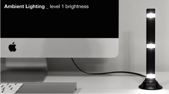 LED Portable Charger Doubles as a Lamp