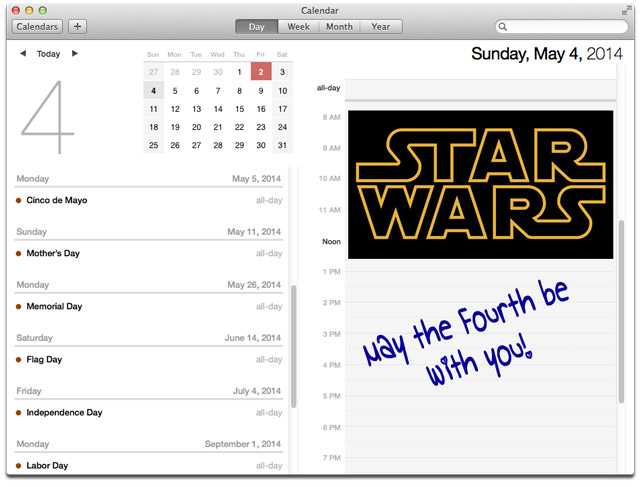 Star Wars Day Is Sunday!