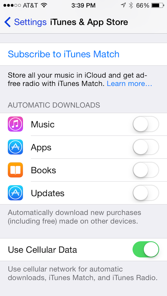 article apps itunes match error tracks