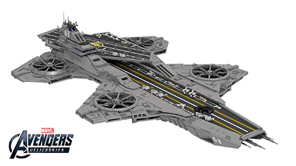 LEGO Avengers Helicarrier: Only 22,694 Bricks