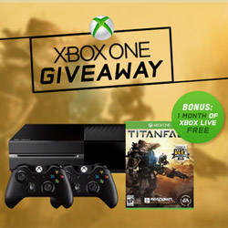 Register for Xbox One Titanfall Giveaway through TMO Deals