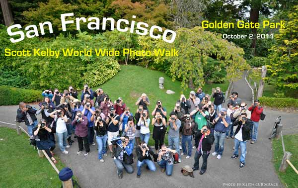 Photo of a group of photo walk participants