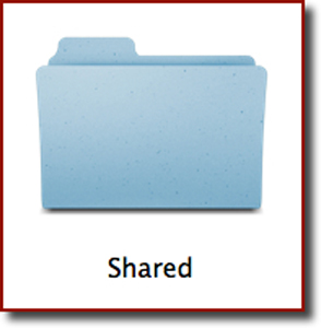 The Shared folder