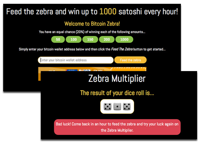 BitcoinZebra Screenshots