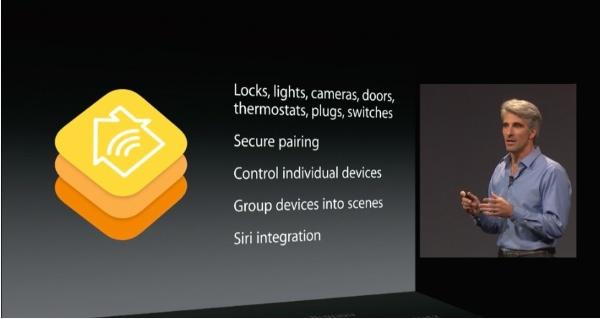 Apple Senior VP Craig Federighi Announcing Homekit at WWDC 2014