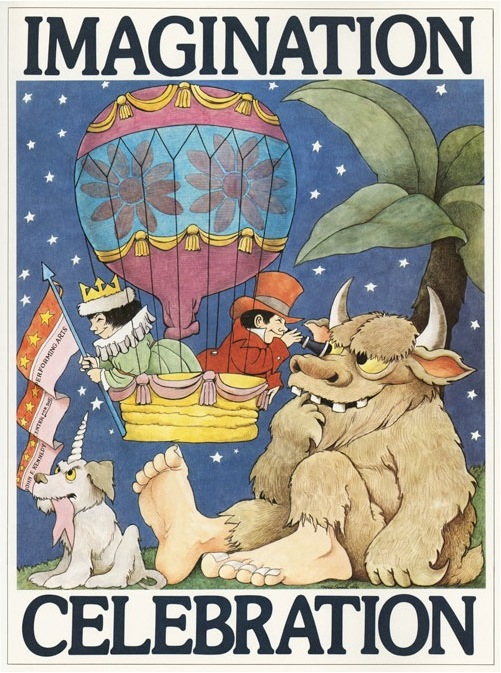 Monstrous Posters by Maurice Sendak