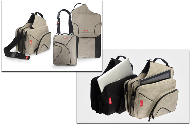 The MIXBAG, a Remarkably Versatile Bag for Gadget Users