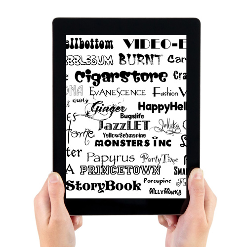 How To Install Fonts Onto Your iPad
