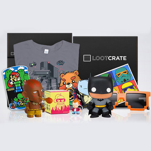Loot Crate Three Month Subscription for $48