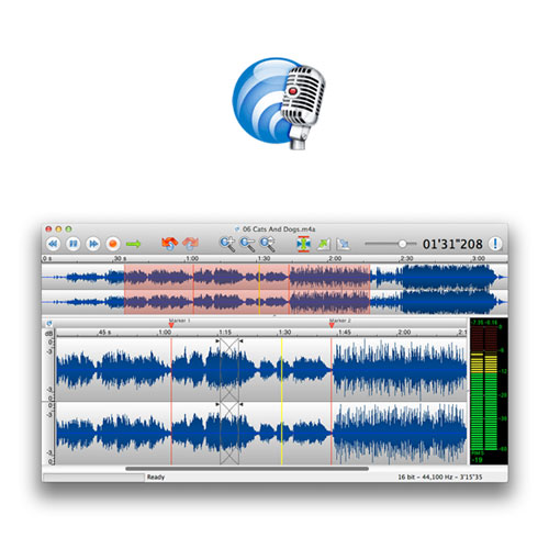 TwistedWave Audio Recorder and Editor for Mac: $20