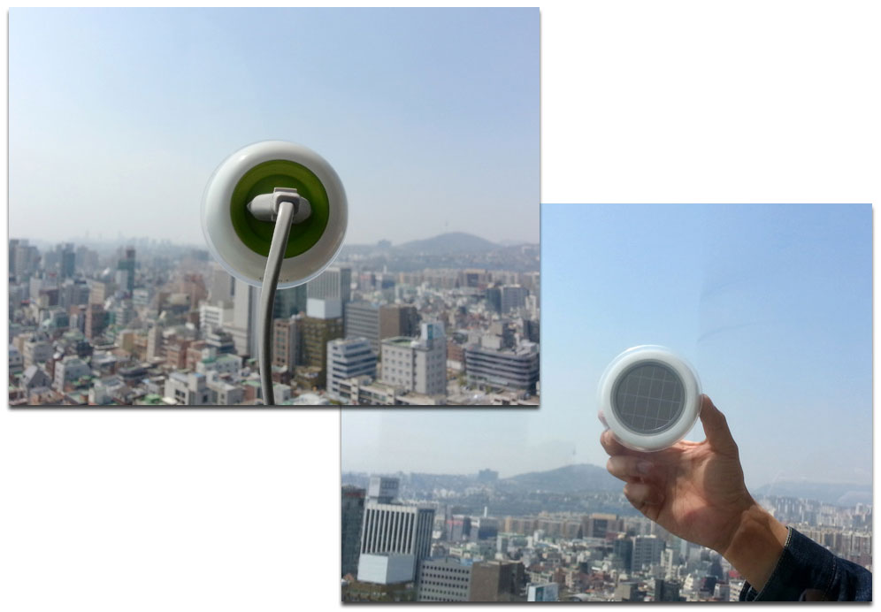'Window Plug' Portable Solar Charger Concept Design