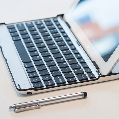 The Ultimate iPad Bundle - Case, Protector, Keyboard, and Stylus: $39