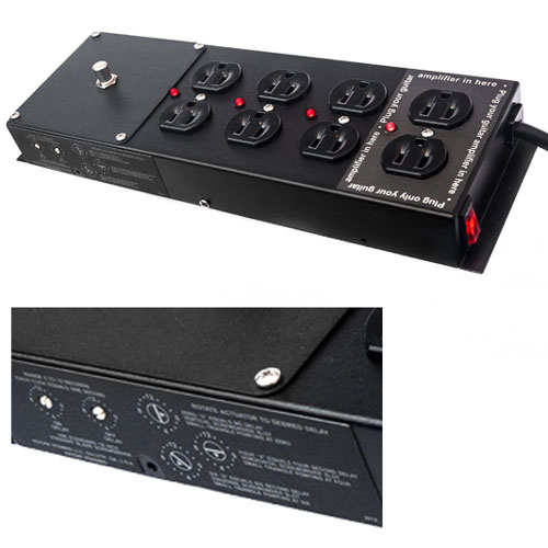 Rockn Stompn for Musicians: Power Strip, Conditioner, and Sequencer