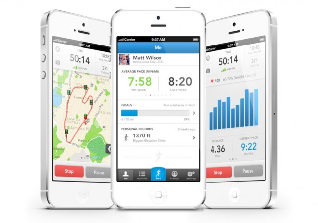 RunKeeper logs your runs and walks, and links to other fitness devices