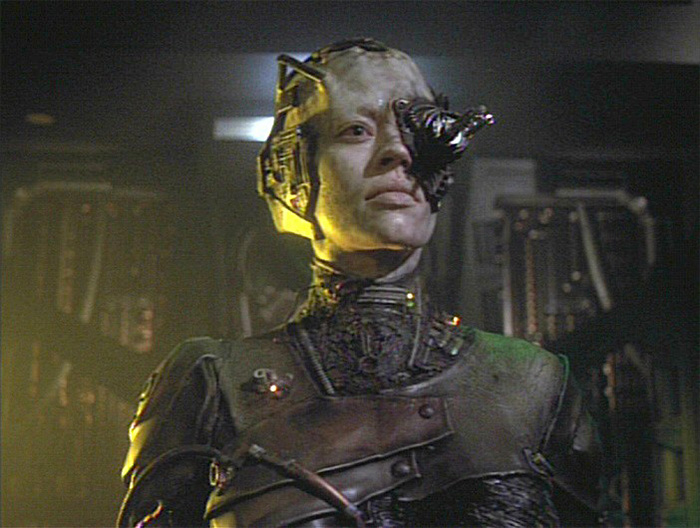 If Apple does cover us in sensors hopefully we'll look more stylish that the Borg