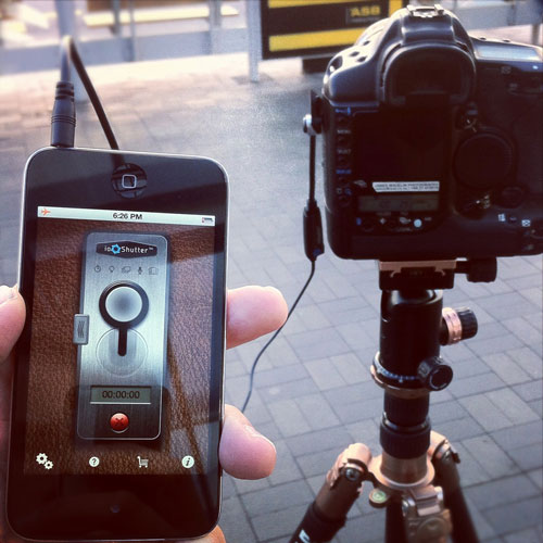 ioShutter SLR: Control Your Camera With Your iPhone for $29.99