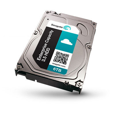 Seagate Ships First 8TB Hard Drives for Enterprise