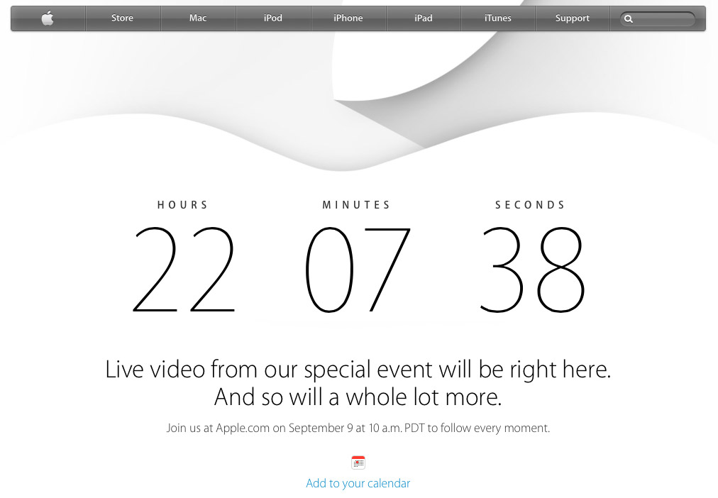 Apple's Home Page