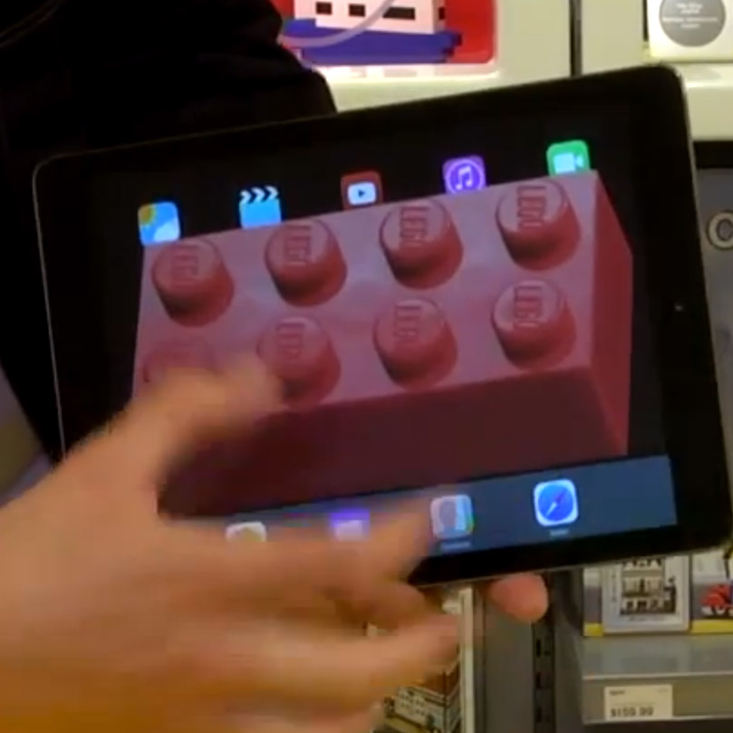 Simon Pierro Does iPad Magic Using LEGO