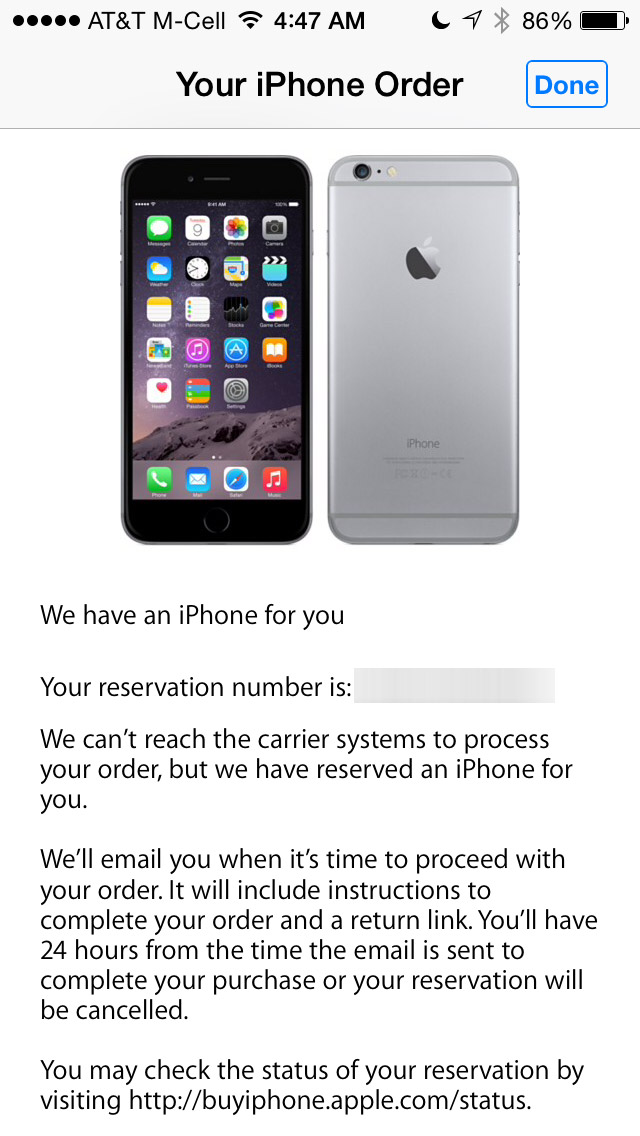 Apple Reserving Iphone 6 Preorders When Carrier Connections Hang