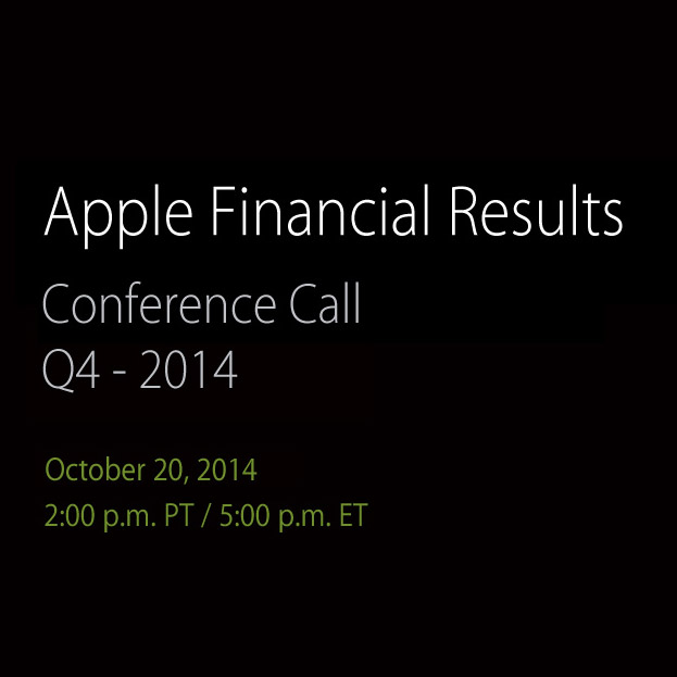 $AAPL Q4 Conference Call