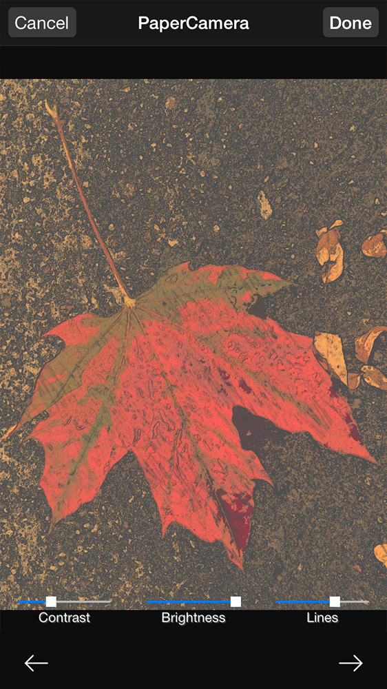 Paper Camera adds cool artistic filters to Photos
