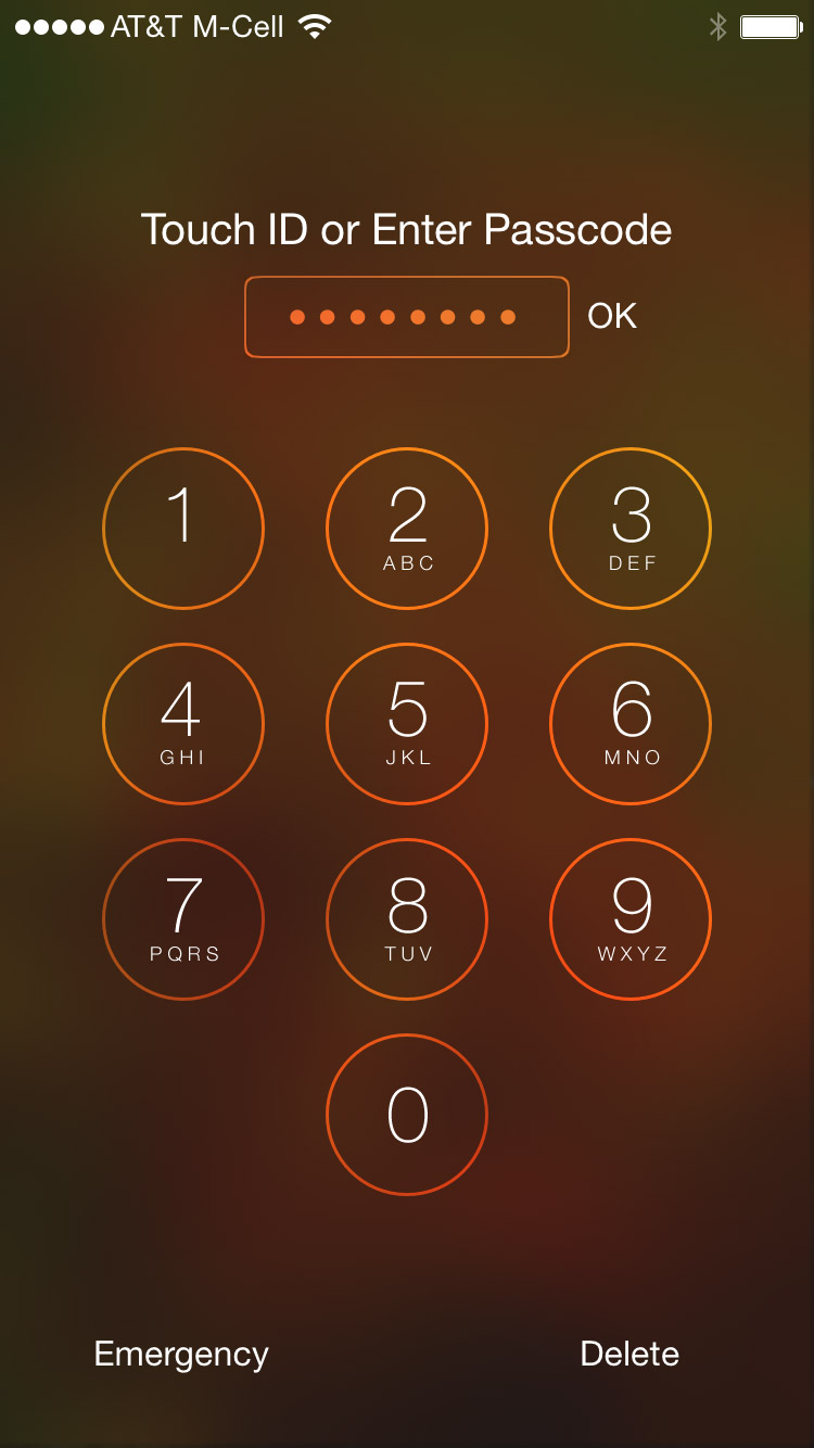 how to get different passcode locks for iphone