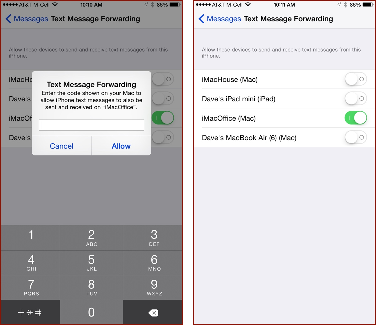 How to Enable Apple's SMS Relay on your Mac or iPad