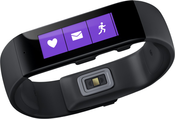 Microsoft Band wants some action in the fitness tracker market