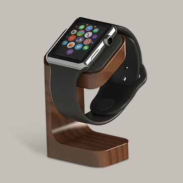 Charge Your Apple Watch in Style with DODOcase's Wood Stand