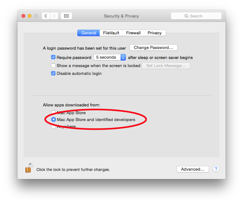 Make sure your Mac runs apps only from trusted sources to avoid WireLurker