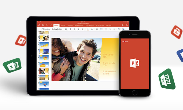 Microsoft Office for iOS and Android doesn't require an Office 365 subscription anymore