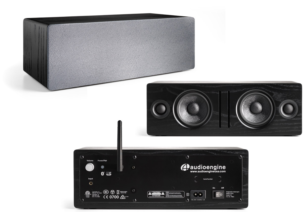 Audioengine Announces B2 Premium Bluetooth Speaker with Built-In 24-Bit DAC