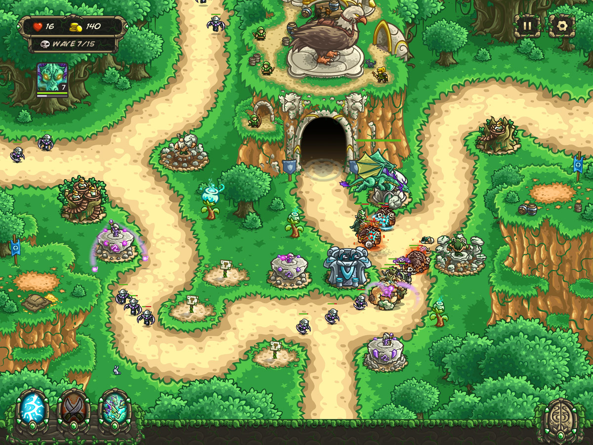'Kingdom Rush Origins' Tower Defender Released for iPhone and iPad