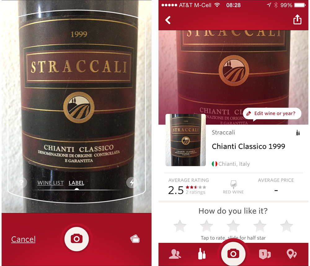 Pick the right wine for your holiday with Vivino