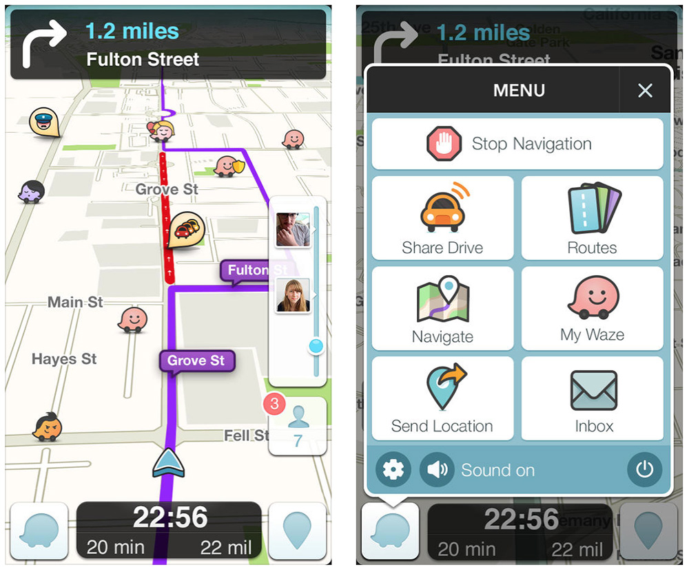 Use Waze to get to your Thanksgiving events on time