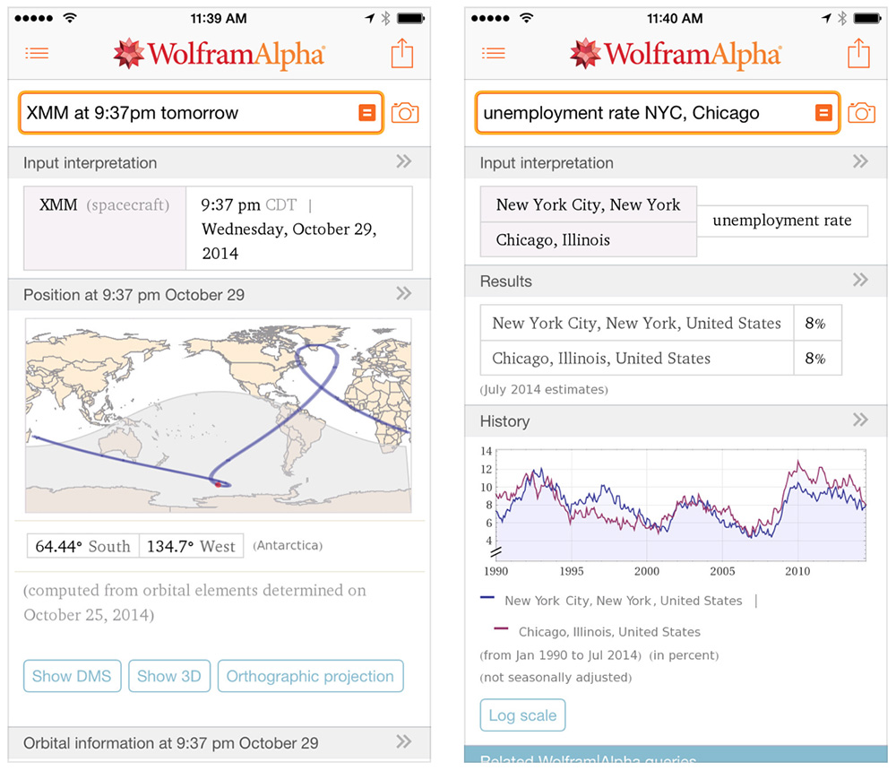 WolframAlpha is your gateway to holiday conversation answers and trivia