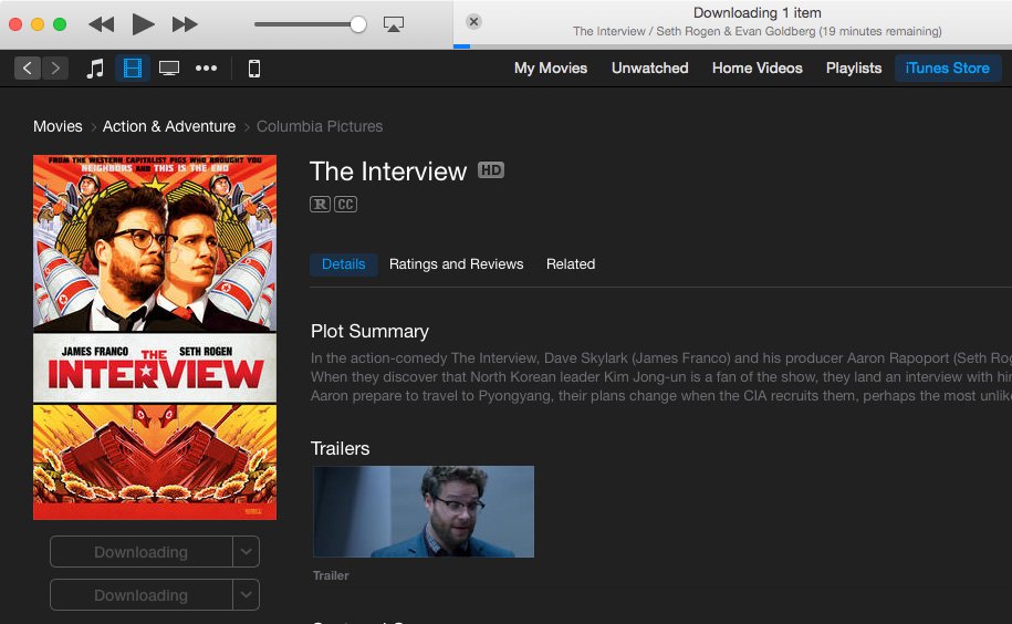 The Interview on iTunes