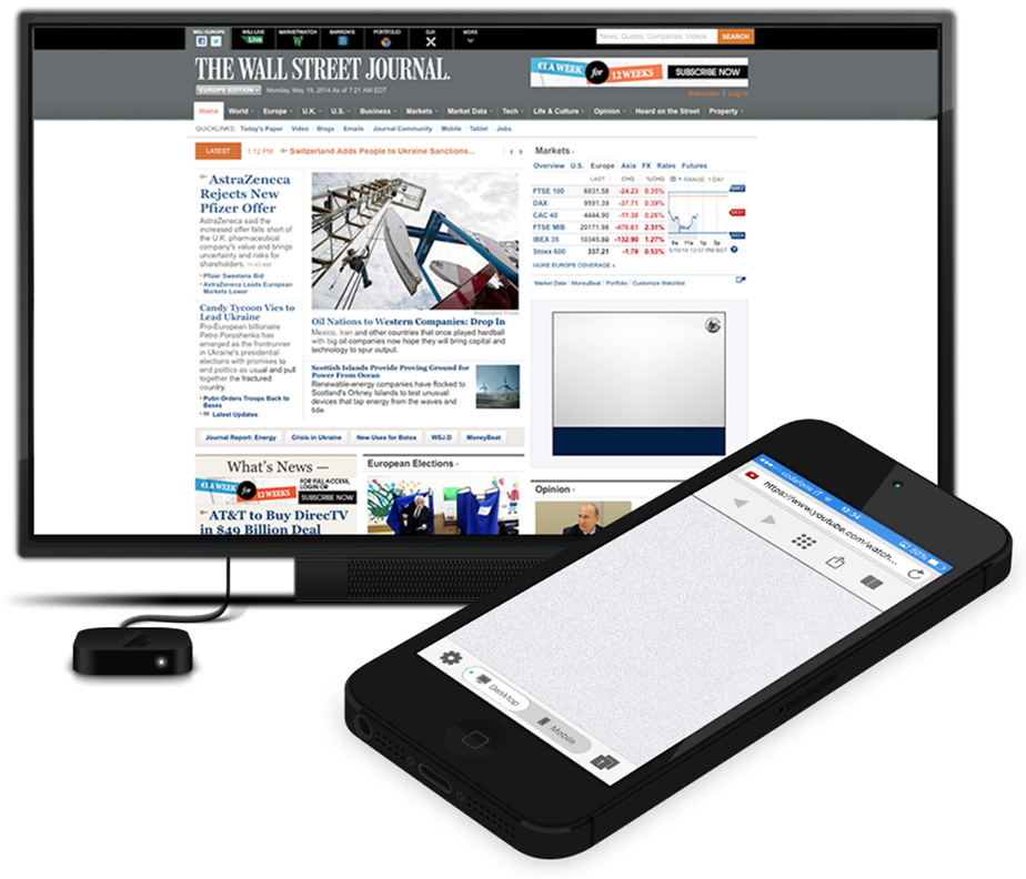 AirBrowser for the iPhone and iPad