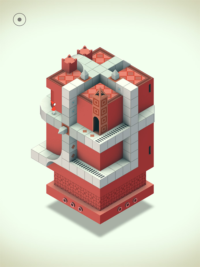 Monument Valley for the iPhone and iPad